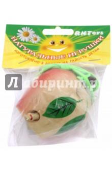 Яблоко-шнуровка лакированное расписное (Ш-053)