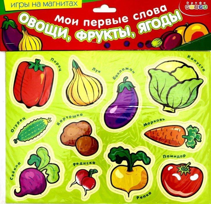 Иллюстрация 1 из 10 для Мои первые слова: Овощи, фрукты, ягоды | Лабиринт - игрушки. Источник: Лабиринт