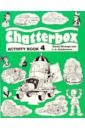Strange Derek & Holderness J.A. Chatterbox 4 (Activity Book) little children s halloween activity book