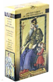 Таро Золотое Флорентийское (руководство + карты) карты таро магические карты для гадания и целительства