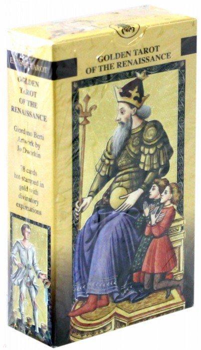 Иллюстрация 1 из 24 для Таро Золотое Флорентийское (руководство + карты) - Джордано Берти   Лабиринт - книги. Источник: Лабиринт