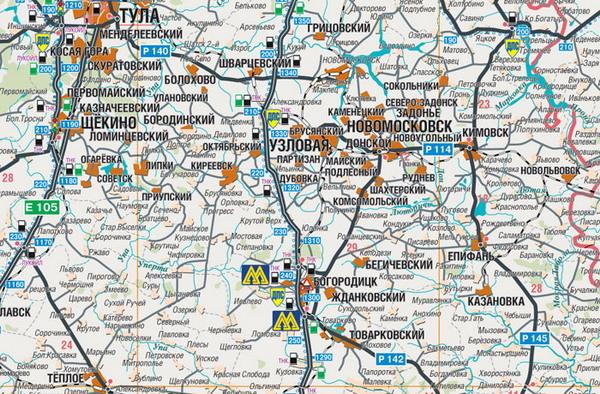 Иллюстрация 1 из 6 для Авто Атлас России от Калиниграда до Урала (средний) | Лабиринт - книги. Источник: Лабиринт