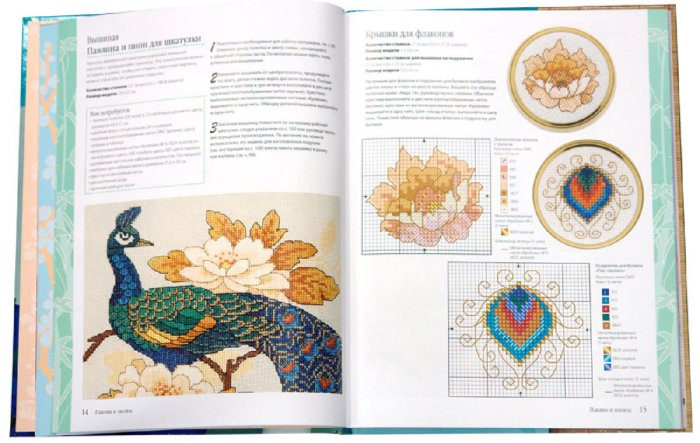 Иллюстрация 1 из 24 для Восточная вышивка крестом - Лесли Тиэри | Лабиринт - книги. Источник: Лабиринт