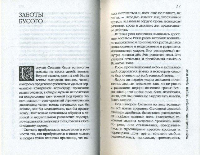 Иллюстрация 1 из 11 для Бусый Волк - Семенова, Тедеев   Лабиринт - книги. Источник: Лабиринт