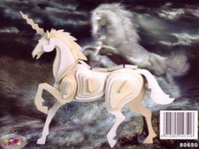 Иллюстрация 1 из 3 для Единорог / Лошадь | Лабиринт - игрушки. Источник: Лабиринт