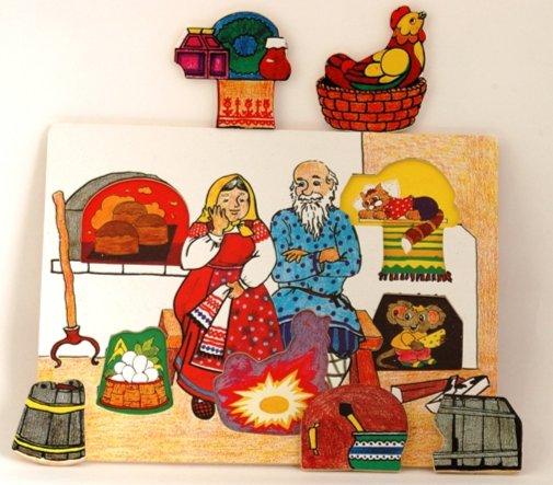 """Иллюстрация 1 из 15 для Развивающая деревянная игра """"Курочка Ряба"""" (D206)   Лабиринт - игрушки. Источник: Лабиринт"""