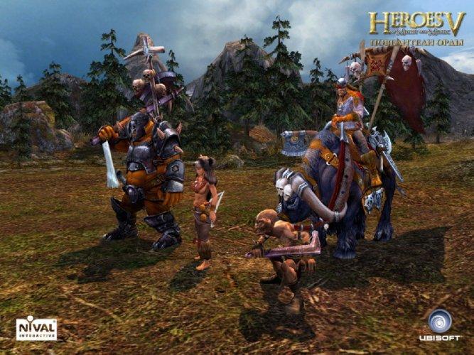 Иллюстрация 1 из 5 для Heroes of Might and Magic V: Повелители Орды (DVD) | Лабиринт - софт. Источник: Лабиринт