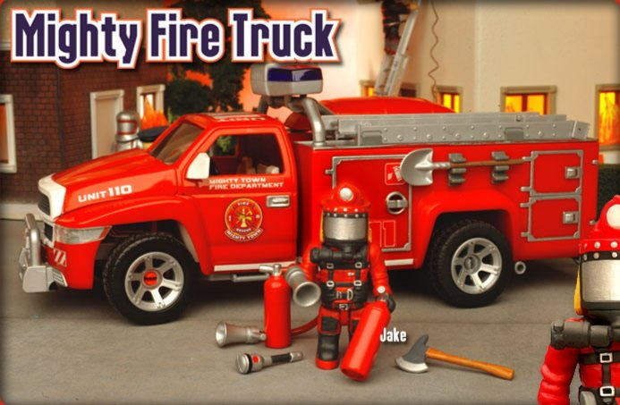 Иллюстрация 1 из 3 для Пожарная машина (8642)   Лабиринт - игрушки. Источник: Лабиринт