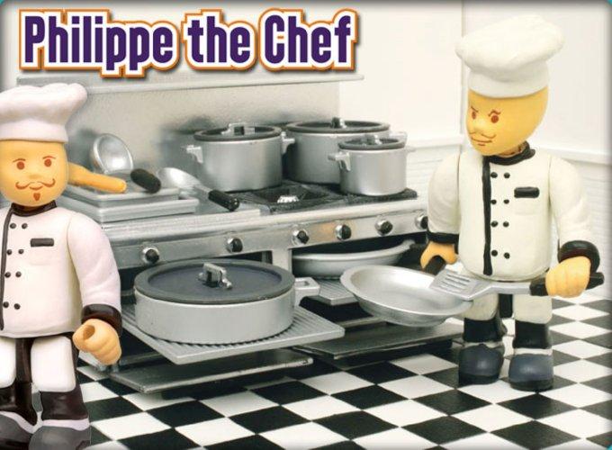 Иллюстрация 1 из 3 для Шеф-повар Филипп (8573) | Лабиринт - игрушки. Источник: Лабиринт