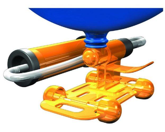 Иллюстрация 1 из 3 для Гонки на воздушном шаре (28701) | Лабиринт - игрушки. Источник: Лабиринт