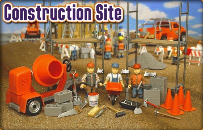 Иллюстрация 1 из 3 для Строительная площадка (8614) | Лабиринт - игрушки. Источник: Лабиринт