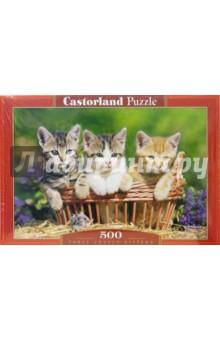 Puzzle-500. Три котенка (В-51168)