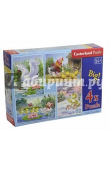 Puzzle-8х12х15х20 Гадкий утенок (4 в 1) (В-04027) puzzle 8х12х15х20 транспорт в 043057