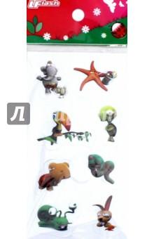 Наклейки детские 3D Sticker, объемные (в ассортименте)