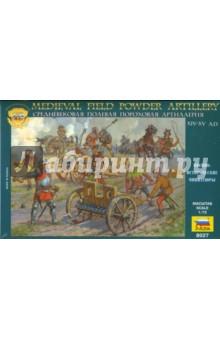 Купить Средневековая полевая пороховая артиллерия (8027), Звезда, Пластиковые модели другой тематики