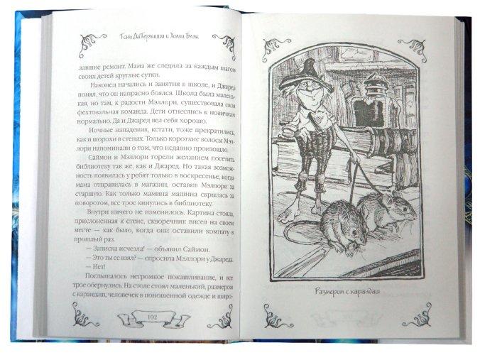 Иллюстрация 1 из 13 для Спайдервик. Хроники - ДиТерлицци, Блэк   Лабиринт - книги. Источник: Лабиринт
