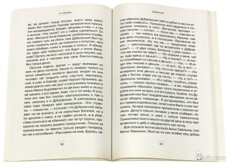 Иллюстрация 1 из 4 для Дубровский - Александр Пушкин | Лабиринт - книги. Источник: Лабиринт