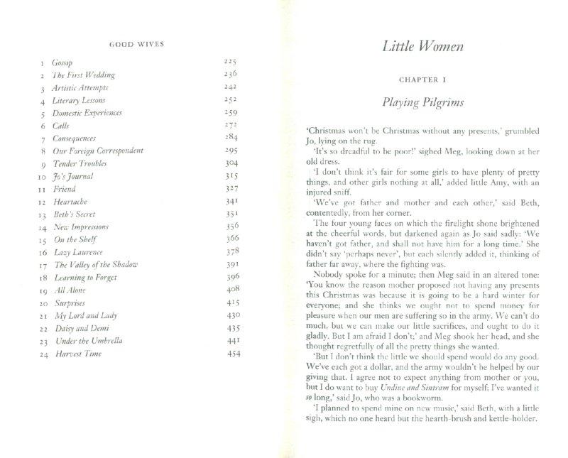 Иллюстрация 1 из 10 для Little Women & Good Wives - Louisa Alcott | Лабиринт - книги. Источник: Лабиринт