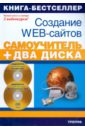 Панфилов Игорь Создание Web-сайтов. Adobe Flash CS3 & Adobe Dreamweaver CS3 (+2 CD) web html dreamweaver css div