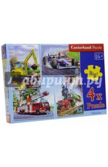 "Puzzle-8х12х15х20 ""Транспорт"" (4 в 1) (В-04089)"