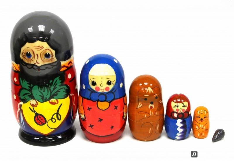 Иллюстрация 1 из 4 для Матрешка Сказка Репка (6 в 1) (Д-263) | Лабиринт - игрушки. Источник: Лабиринт