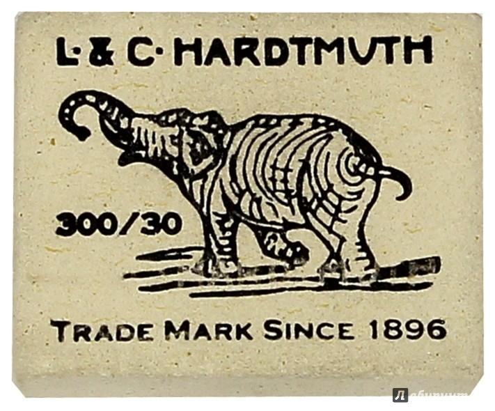 Иллюстрация 1 из 3 для Ластик  Elephant (белый) (300/30) | Лабиринт - канцтовы. Источник: Лабиринт