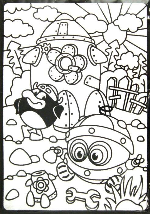Иллюстрация 1 из 4 для Бархатная картинка. Биби и ракета | Лабиринт - игрушки. Источник: Лабиринт