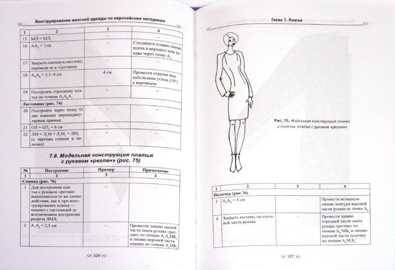 Иллюстрация 1 из 4 для Конструирование женской одежды по европейским методикам - Тухбатуллина, Сафина, Хамматова   Лабиринт - книги. Источник: Лабиринт