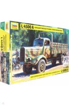 Немецкий тяжелый грузовик L4500 A времен второй мировой войны