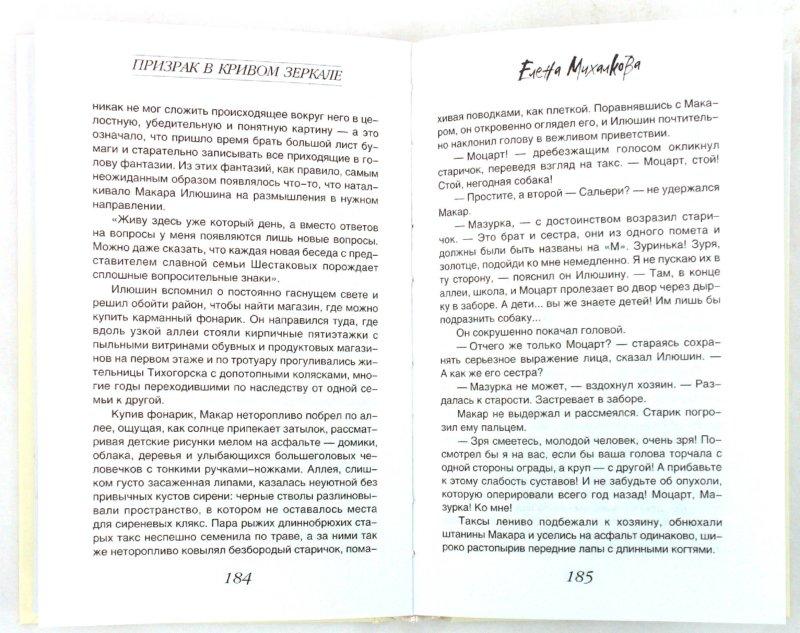 Иллюстрация 1 из 13 для Призрак в кривом зеркале - Елена Михалкова   Лабиринт - книги. Источник: Лабиринт