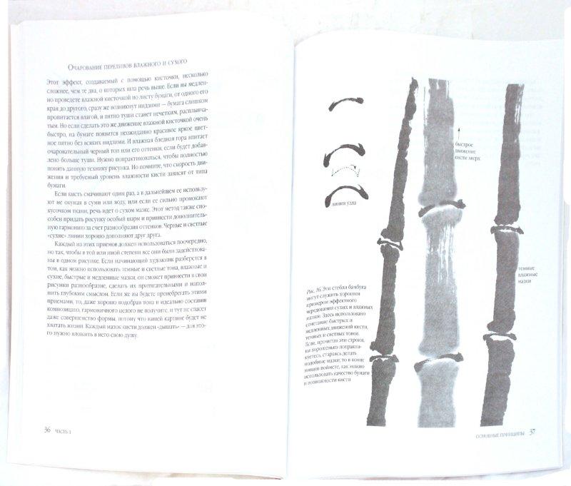 Иллюстрация 1 из 17 для Японская живопись тушью в стиле суйбоку - Рюкю Саито | Лабиринт - книги. Источник: Лабиринт