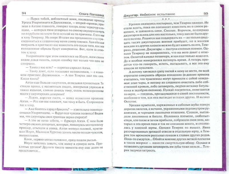 Иллюстрация 1 из 7 для Джунгар: Небесное испытание - Ольга Погодина | Лабиринт - книги. Источник: Лабиринт