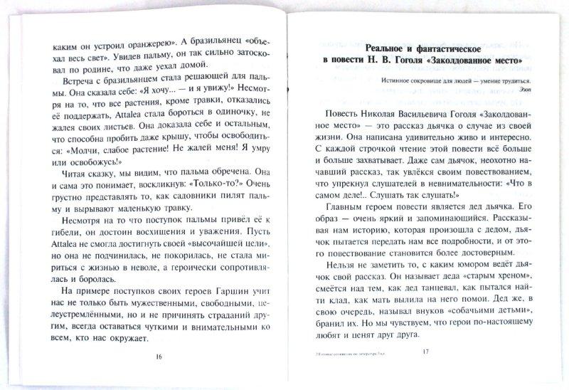 Иллюстрация 1 из 4 для Готовые сочинения по литературе. 5 класс - Ольга Ушакова | Лабиринт - книги. Источник: Лабиринт