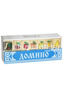 """Домино """"Фрукты-ягоды"""" (5555-5) от Лабиринт"""