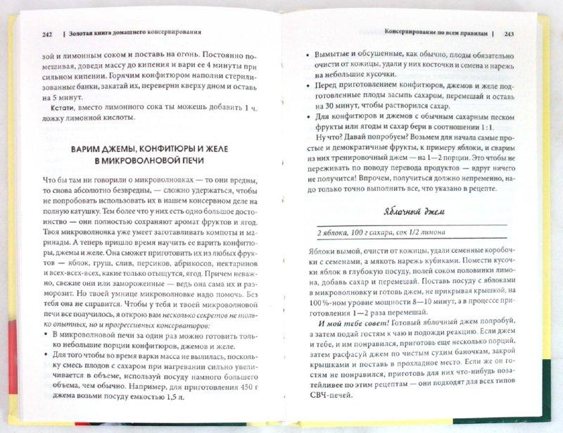 Иллюстрация 1 из 29 для Золотая книга домашнего консервирования - Ирина Сокол | Лабиринт - книги. Источник: Лабиринт