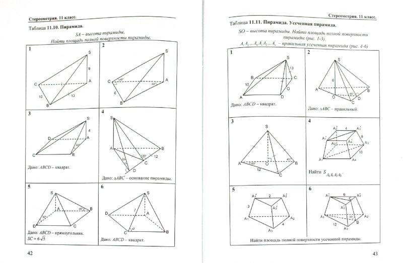 Учебник по геометрии 10?11 класс Задачи и упражнения на готовых чертежах: Рабинович Е.М.
