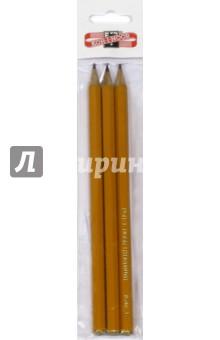 Карандаши чернографитные разной твердости (3 шт.) (1500/3)