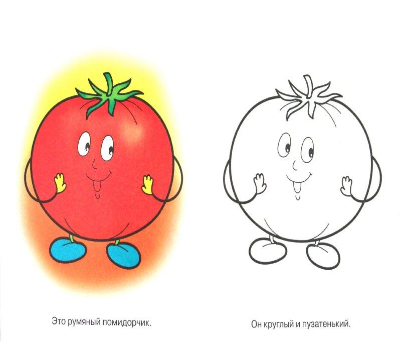 Иллюстрация 1 из 12 для Овощи. Толстячок-кабачок | Лабиринт - книги. Источник: Лабиринт