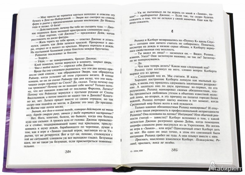 Иллюстрация 1 из 60 для Темная башня: Колдун и кристалл - Стивен Кинг | Лабиринт - книги. Источник: Лабиринт