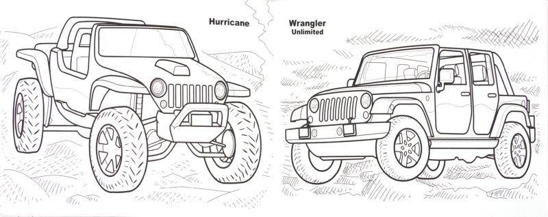 Иллюстрация 1 из 26 для Джипы. Раскраска | Лабиринт - книги. Источник: Лабиринт