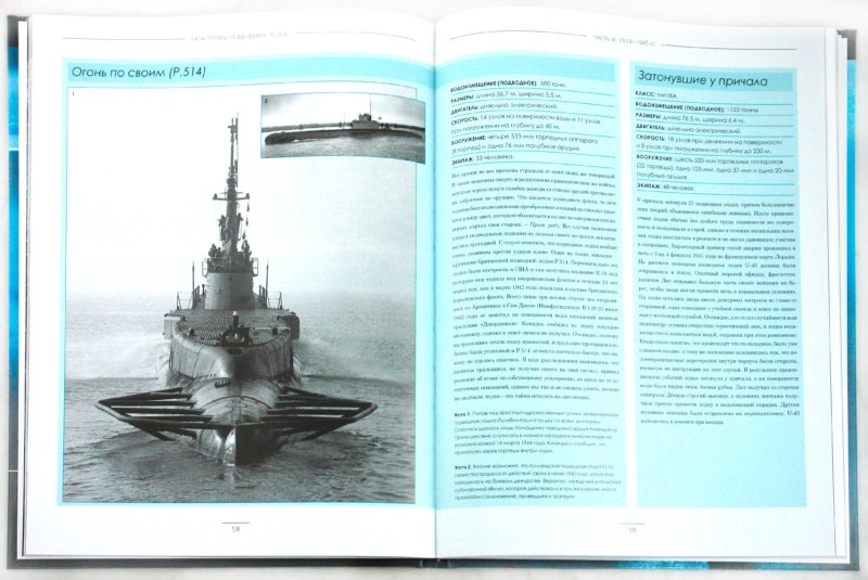 Иллюстрация 1 из 7 для Катастрофы подводных лодок. Хроника трагедий от 1850 года до наших дней - Дэвид Миллер | Лабиринт - книги. Источник: Лабиринт