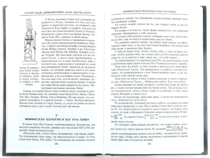 Иллюстрация 1 из 15 для Древний Египет: духи, идолы, боги - Уоллис Бадж | Лабиринт - книги. Источник: Лабиринт