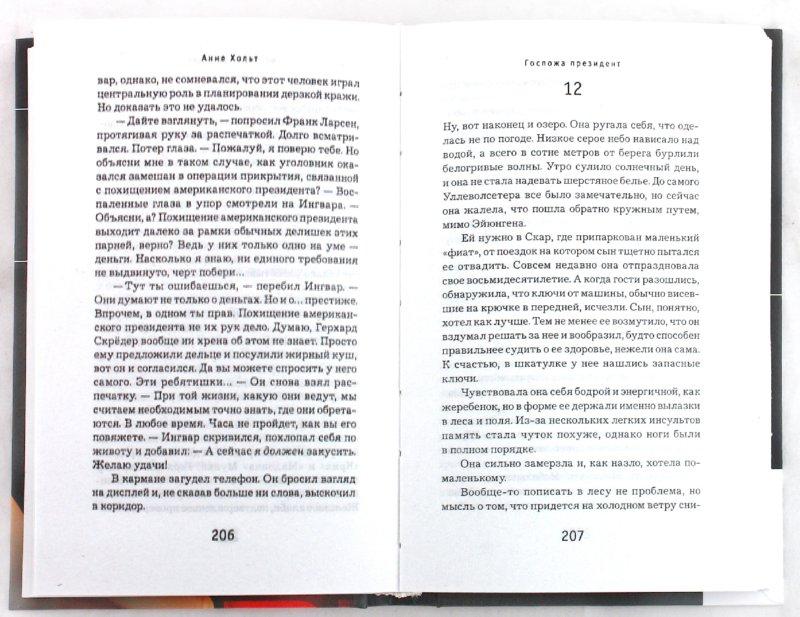 Иллюстрация 1 из 5 для Госпожа президент - Анне Хольт | Лабиринт - книги. Источник: Лабиринт