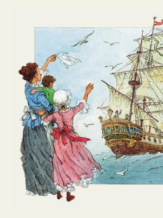 Иллюстрация 1 из 60 для Путешествия Гулливера - Джонатан Свифт | Лабиринт - книги. Источник: Лабиринт