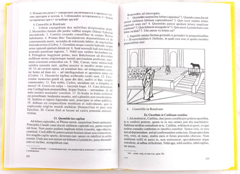 Иллюстрация 1 из 11 для Латинский язык: Учебник для лицеев и гимназий - Кацман, Ульянова   Лабиринт - книги. Источник: Лабиринт