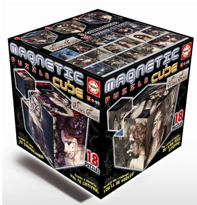 """Иллюстрация 1 из 19 для Магнитные кубики-пазлы """"Готика"""" (27 кубиков, 18 пазлов) (14061)   Лабиринт - игрушки. Источник: Лабиринт"""