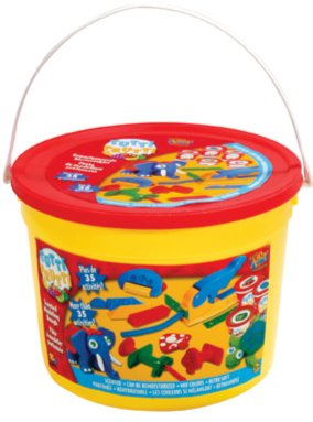 Иллюстрация 1 из 22 для Набор массы для лепки в ведре (325) | Лабиринт - игрушки. Источник: Лабиринт