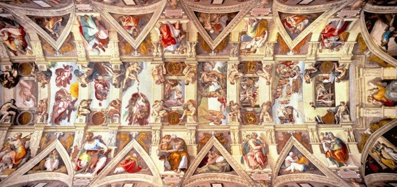 Иллюстрация 1 из 2 для Пазл-3000  Сикстинская капелла (панорама) (12748) | Лабиринт - игрушки. Источник: Лабиринт