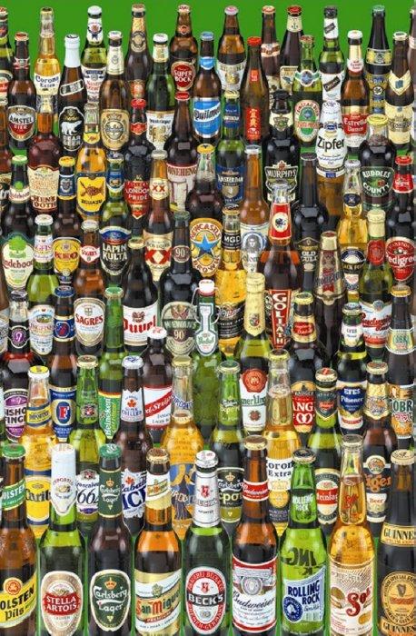 """Иллюстрация 1 из 2 для Пазл-1000 13782 """"Пиво"""" (миниатюра)   Лабиринт - игрушки. Источник: Лабиринт"""