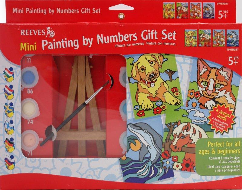 Иллюстрация 1 из 6 для Мини-набор для раскрашивания (PPNFMGIFT) | Лабиринт - игрушки. Источник: Лабиринт